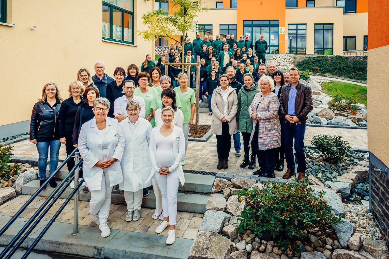 Das Team der Reha-Fachklinik EUBIOS